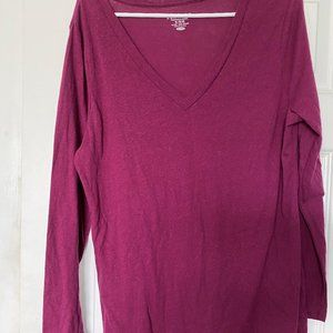 Old Navy Long Sleeve T-Shirt Vintage Relaxed fit